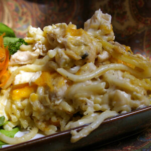 Chicken Tetrazzini meals to go