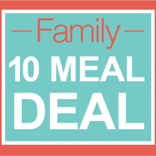 Family 10 Meal Deal To Go