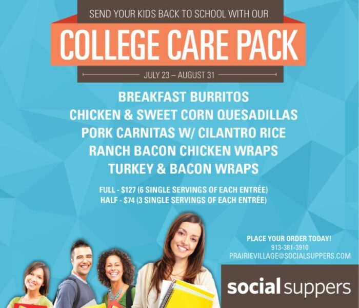 College meals prepped kansas city