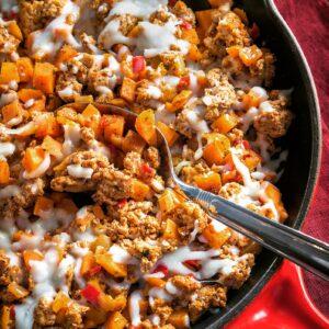 sweet potato skillet meals to go