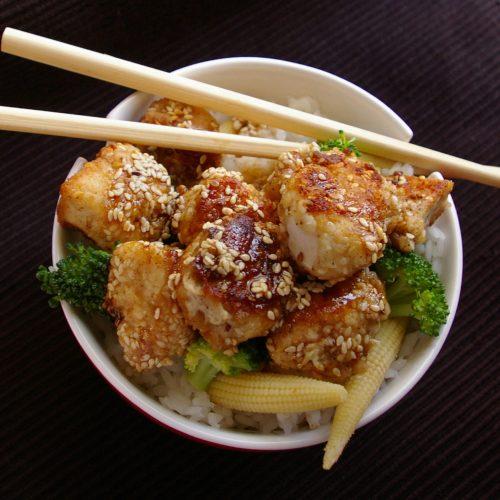 sesame chicken meals to go
