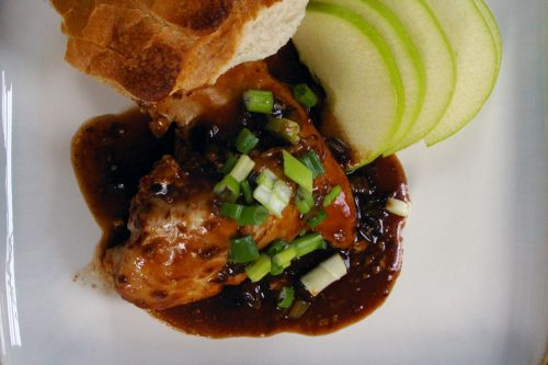 balsamic BBQ chicken