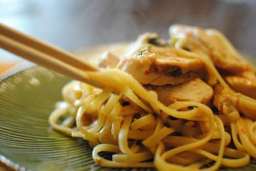 thai chicken pasta to go